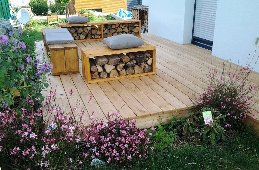 Aménagement terrasse bois à Colmar