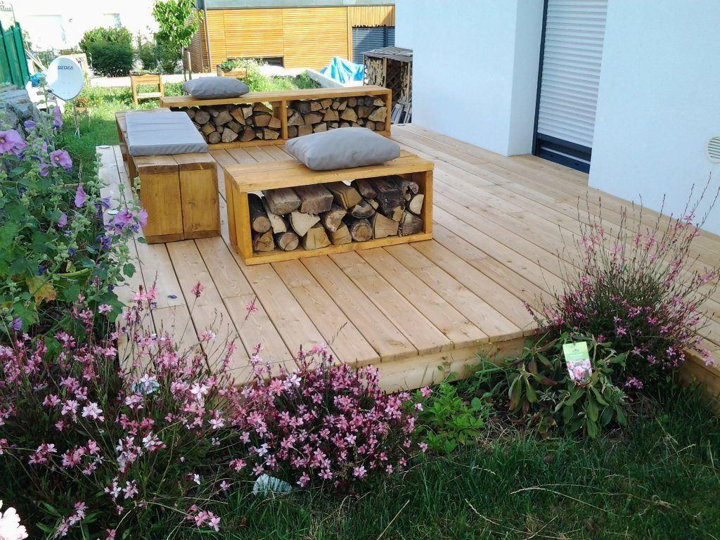 Aménagement terrasse bois à Colmar - Naturabois