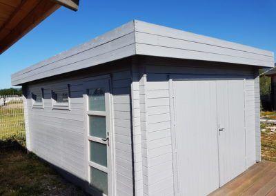 garage bois