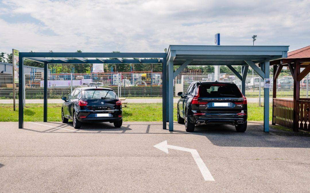 Carport à Carspach