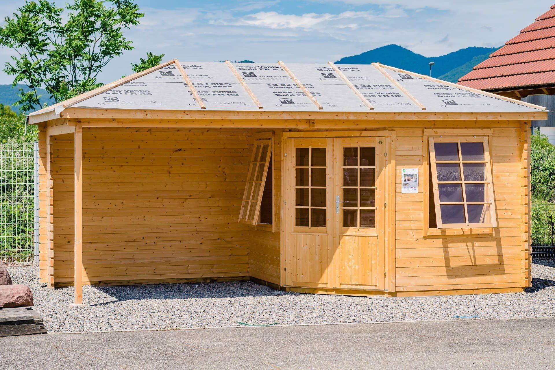 abris de jardin et ch lets en alsace par natura bois. Black Bedroom Furniture Sets. Home Design Ideas