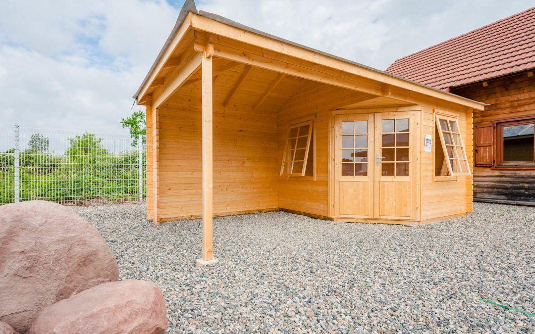 Abri de jardin bois à Cernay