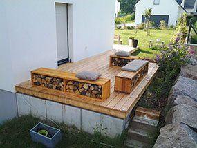 Création de terrasse bois en Alsace