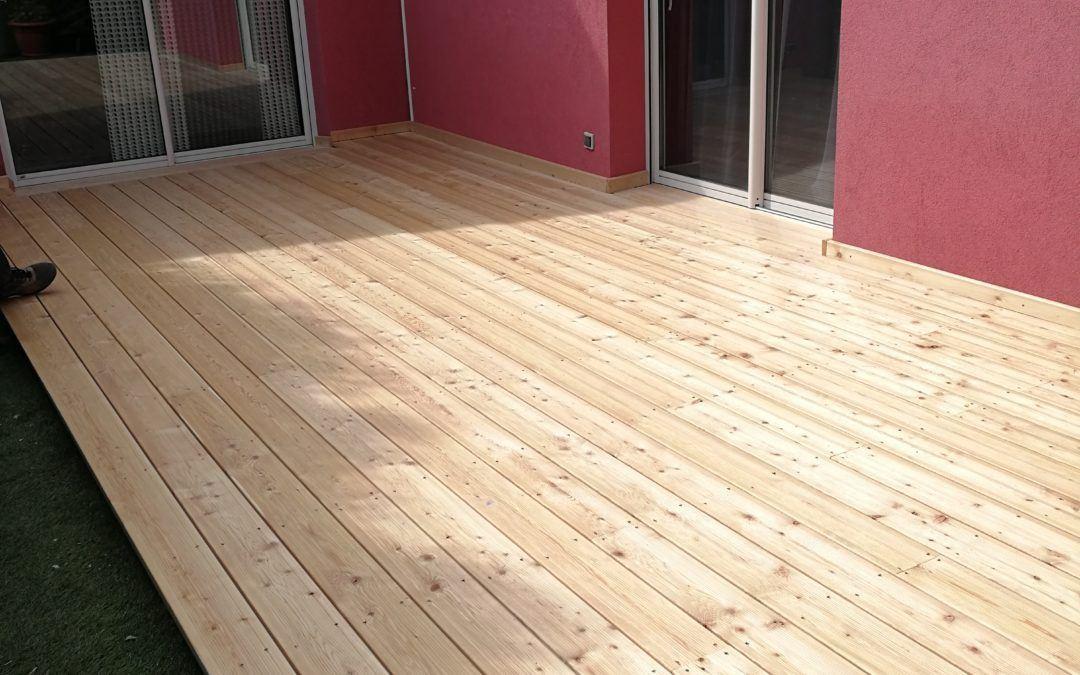 Terrasse bois à Altkirch